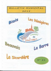Couverture Bulletin 2015